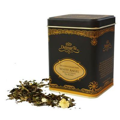 "Бял и зелен чай смес ""Бял ангел"" - DelmarTe Exclusive"
